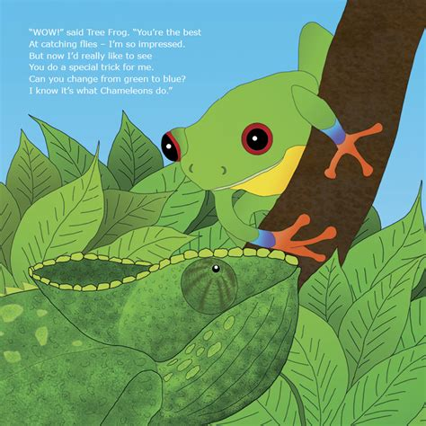 you are one in a chameleon books the chameleon who couldn t change colour gail clarke
