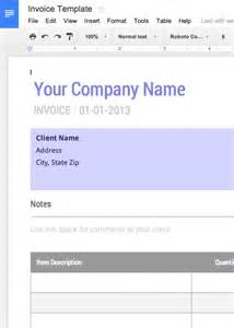 create doc template printable invoice template your sourche for printable