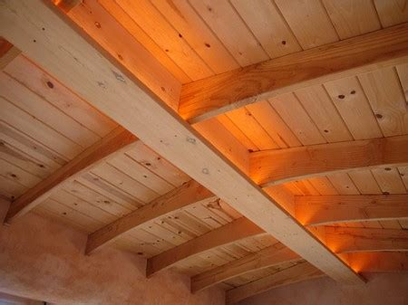 A Frame Ceiling Ideas by Straw Bale And Timber Frame