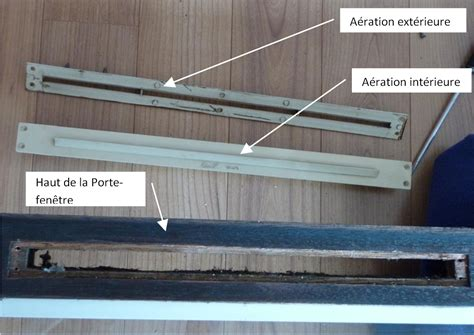 Grille Aeration Fenetre Pvc by A 233 Ration Porte Fen 234 Tre