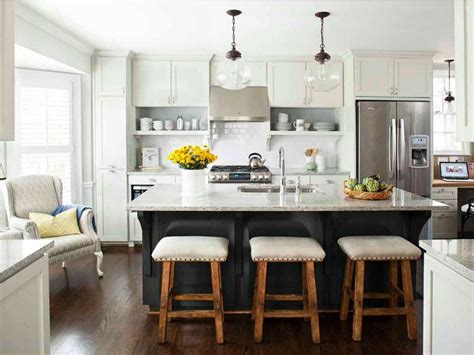 kitchen island with seating and cabinets smith design cool kitchen island with seating