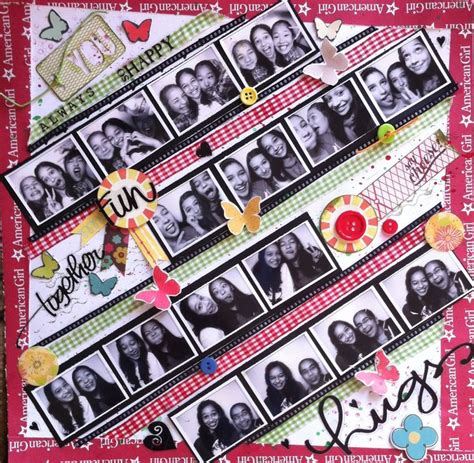 scrapbook layout for friends 1000 images about scrapbook layouts friends