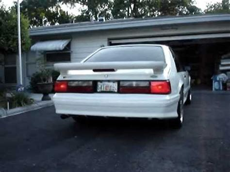 fox body led tail lights fox body mustang sequential tail lights youtube