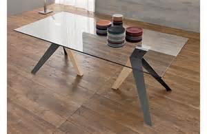 Wonderful Salon De Jardin En Metal #14: Table-cuisine-verre-ifly.jpg