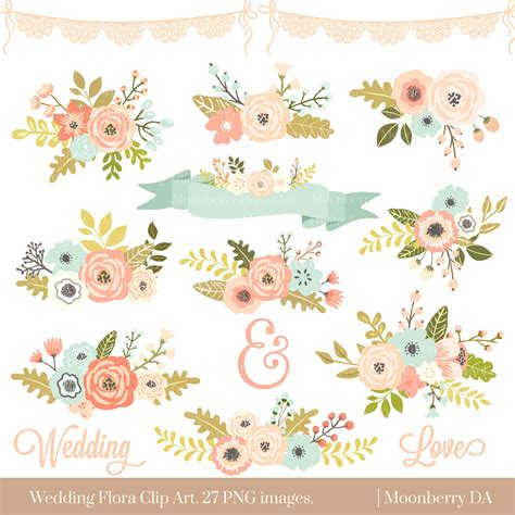floral wedding clipart wedding floral clipart quot floral clipart quot flowers clipart