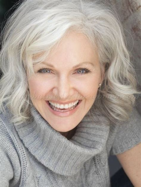 medium haircuts for gray hair 60 gorgeous grey hair styles medium wavy hairstyles for
