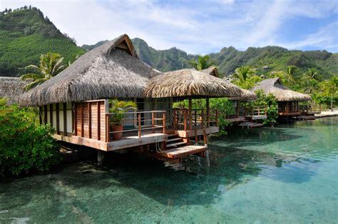 moorea overwater bungalow papeete moorea bora bora rede intercontinental