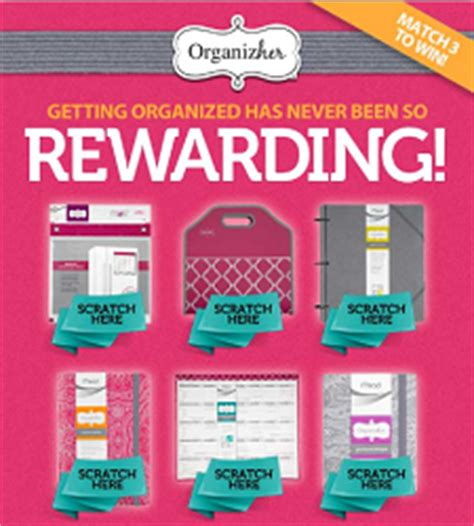 Scratch And Win Gift Cards - organizher scratch and win game win up to a 1 000 target gift card