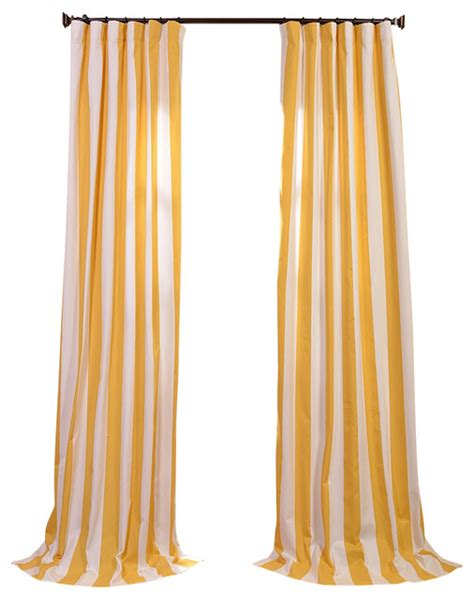 yellow printed curtains cabana yellow printed cotton curtain contemporary