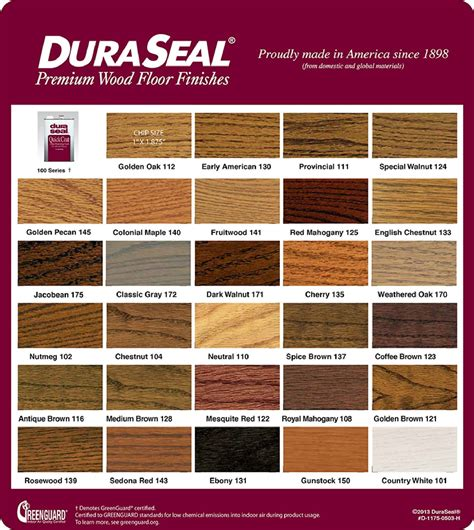 duraseal stain colors color on oak minwax and paint colors