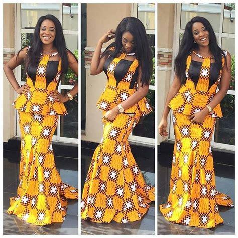 nigerian ankara skirt and blouse styles top ten hot nigerian ankara skirt and blouse styles dabonke