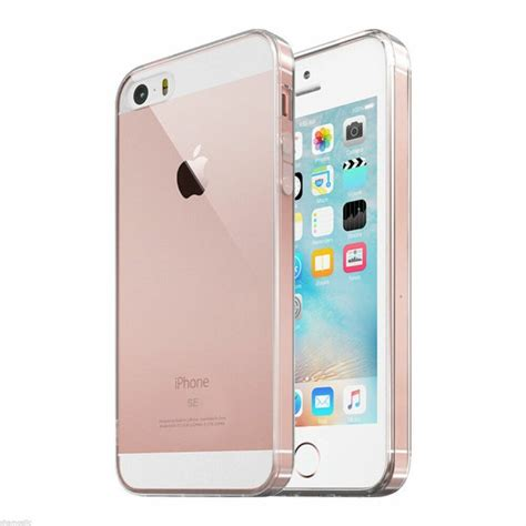 iphone se for iphone se clear shockproof protective iphone 5 5s cover ebay