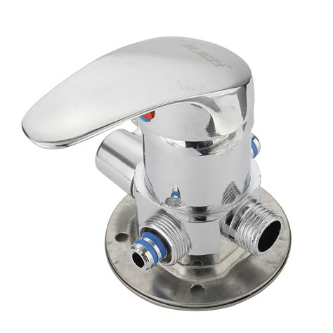 Shower Chrome Water Plus chrome 1 2 inch and cold water faucet diverter bathroom shower valve mixer tap wall mount