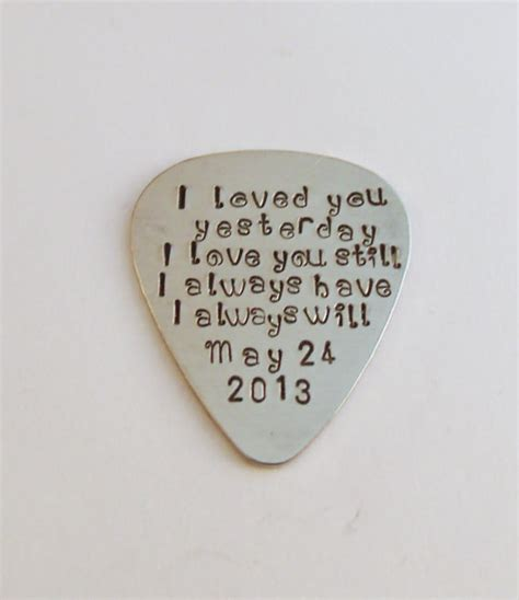 Wedding Anniversary With Your Name Picture Song Message by Custom Guitar Pickpersonalized Quotes Lyrics By Mapandadart