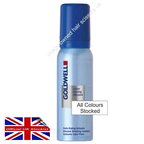 mousse hair color goldwell colorance styling mousse hair colour mousse 75ml