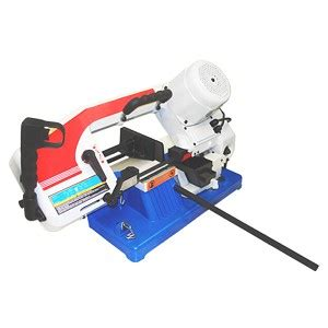 """Portable 4"""" x 6"""" Metal Band Saw Cutting Cutter Round Square Rod 1/2HP 1430 RPM"""