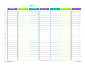 Online House Planner Got A Busy Week There S A Weekly Planner For That