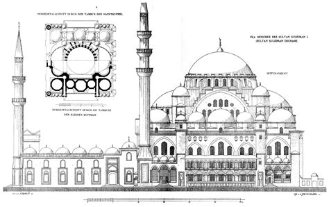 blue mosque floor plan s 252 leymaniye mosque complex istanbul building previews