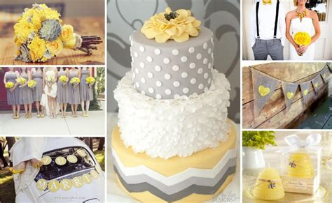 Wedding Decoration Ideas Yellow And Gray Image collections   Wedding Dress, Decoration And Refrence