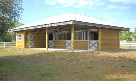 simple horse barn plans shed row horse barns  build