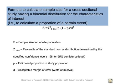 how to conduct a cross sectional study how to conduct medical research