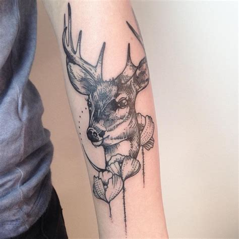 black and grey deer tattoo 75 spectacular black and grey tattoo designs ideas 2018