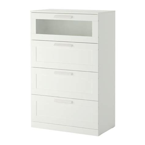 white dressers ikea brimnes 4 drawer dresser white frosted glass ikea 13843 | brimnes drawer dresser white 0500924 PE631463 S4