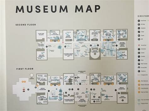 smithsonian floor plan air space museum floor plan map picture of