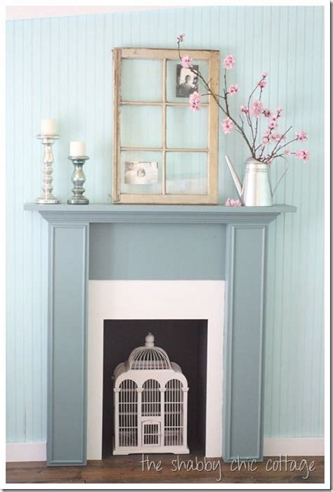 diy fireplace mantel fireplaces shabby chic and diy
