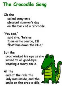 O Christmas Tree Lyrics For Kids - the crocodile song