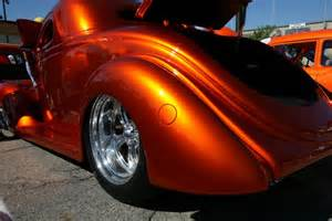 sunset orange pearl paint car tuning motorcycle review and galleries