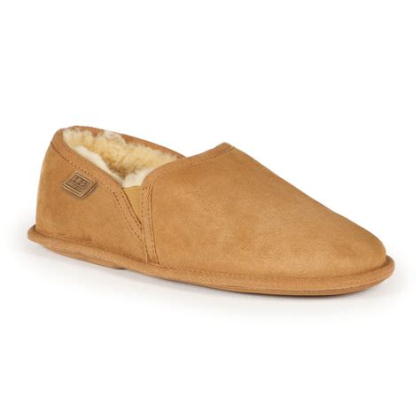 mens slippers mens hoxton sheepskin slippers ebay