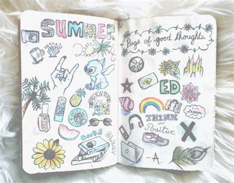doodle draw journal journal grunge doodles draw image 4306243 by