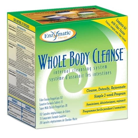 Lifetime Fitness Detox Program Kit Chocolate by Buy Enzymatic Therapy Whole Cleanse Kit At Well Ca