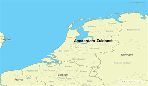 where is amsterdam on the map where is amsterdam zuidoost the netherlands amsterdam