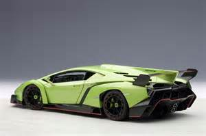 autoart highly detailed die cast model green lamborghini