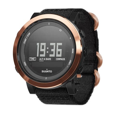 Suunto Essential Ceramic Copper Black Tx Ss022440000 suunto essential ceramic copper black tx your digital store