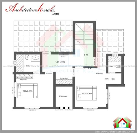 3 bedroom house plan elevation three bedroom house plan and elevation in 2000 sq ft
