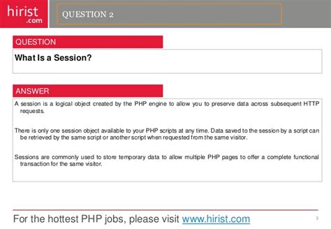 html5 tutorial interview questions top 100 php interview questions answers autos post