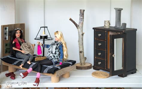 inside a doll house upcycled barbie doll house revealfunky junk interiors