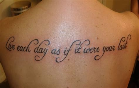 inspirational quotes for tattoos 33 inspirational quote tattoos to consider