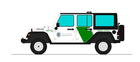 Jeep Wallpaper Border 2007 Jeep Rubicon U S Border Patrol By Medic1543 On