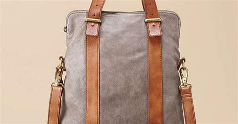 Fossil Bag Kendal Mix Kanvas Small new tote 248 in with every color rosemary