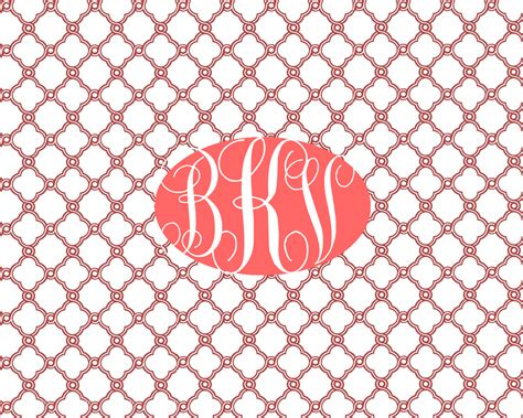 computer wallpaper monogram monogram lilly pulitzer desktop wallpaper wallpapersafari