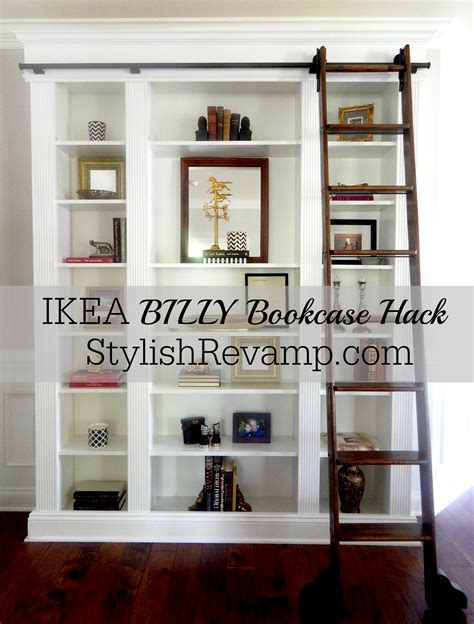 ikea bookshelf hack ikea billy bookcase hack stylish rev