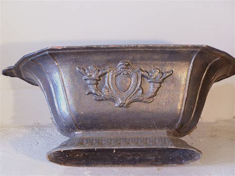 Cast Iron Urn Planters For Sale by 7891 Pr American Neoclassic Cast Iron Planters C1880