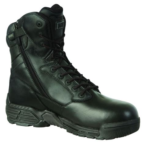 magnum boots for magnum stealth 8 0 leather ct cp sz wpi safety boots