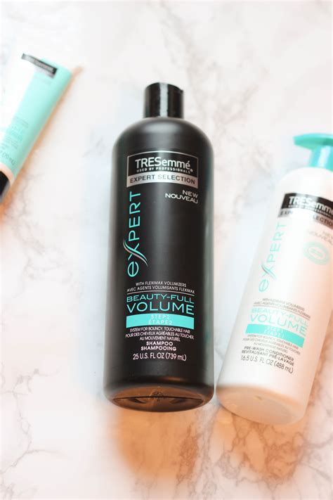 Shoo Tresemme Keratin hair products review product review seven hair products