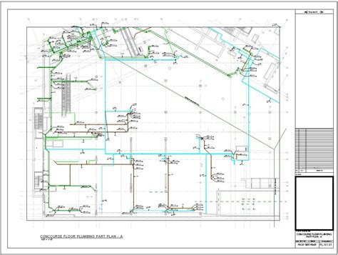 Plumbing Drawing by Mep Shop Drawing Fabrication Drawing