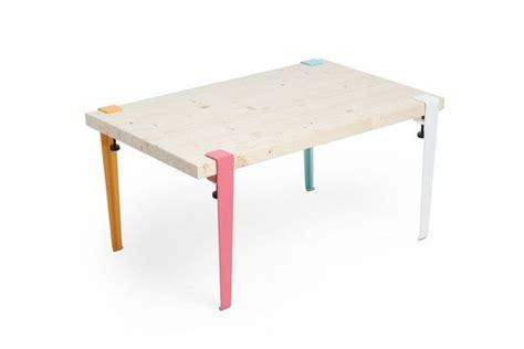 pieds de bureau design maudjesstyling jeu de 4 petits pieds de table amovible